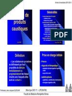 MIF 214 Ingestion de Produits Caustiques
