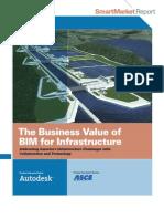 Business Value of Bim for Infrastructure Smartmarket Report 2012