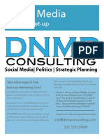 2013 DNMP Consulting Social Media Set-Up Information Version A