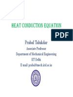 (3) Heat Conduction Equation [Compatibility Mode]