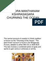Samudra Manthanam, Churning the ocean