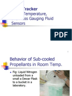 Cryo-Tracker Level Temperature and Mass Gauging Fluid Sensors