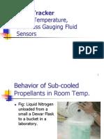 Cryo-Tracker Level Temperature and Mass Gauging Fluid Sensors