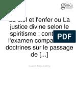 Justice Divine Selon Le Spiritisme