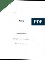 Todorov, Tzvetan - Tipología de la novela policial