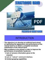 Biomechatronic Hand Ppt