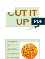 Cut It Up (A book about atoms)