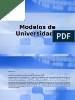 Modelos de Universidad y Sociedad