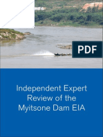 Independent Expert Review of the Myitsone Dam E