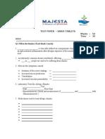 Majesta Division.xaria Test Paper -q