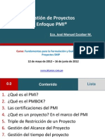 Sesion Nc2ba 12 Gestic3b3n de Proyectos Enfoque Pmi