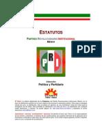 Estatutos PRI 2001
