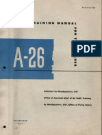 A-26 Invader Pilot Training Manual