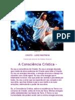 A CONSCIÊNCIA CRÍSTICA - CRISTO - LORD MAITREYA=