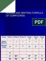Naming and Writing Compunds