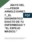 7º ENSAYO DE ARNOLD EHRET