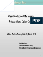 African Development Bank CDM-Projects