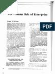 Human Side of Enterprise