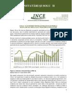 Evoluţia economiei Republicii Moldova în primele nouă luni ale anului 2013