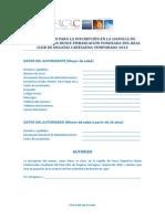 RCRC - SOLICITUD INSCRIPCIÓN LIGUILLA EMBARCACIÓN FONDEADA 2014