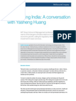 Reimagining India a Conversation With Yasheng Huang
