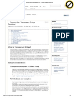 MWG Transparent Bridge Mode