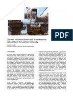 maintenance concepts in the cement