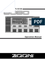 Zoom Super Player 8080 User Guide