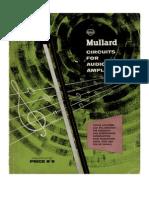 Mullard Circuits for Audio Amplifiers