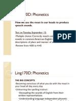 Week2 Phonetics 1