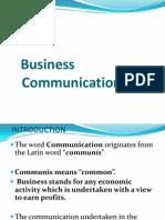 1 -Business Communication