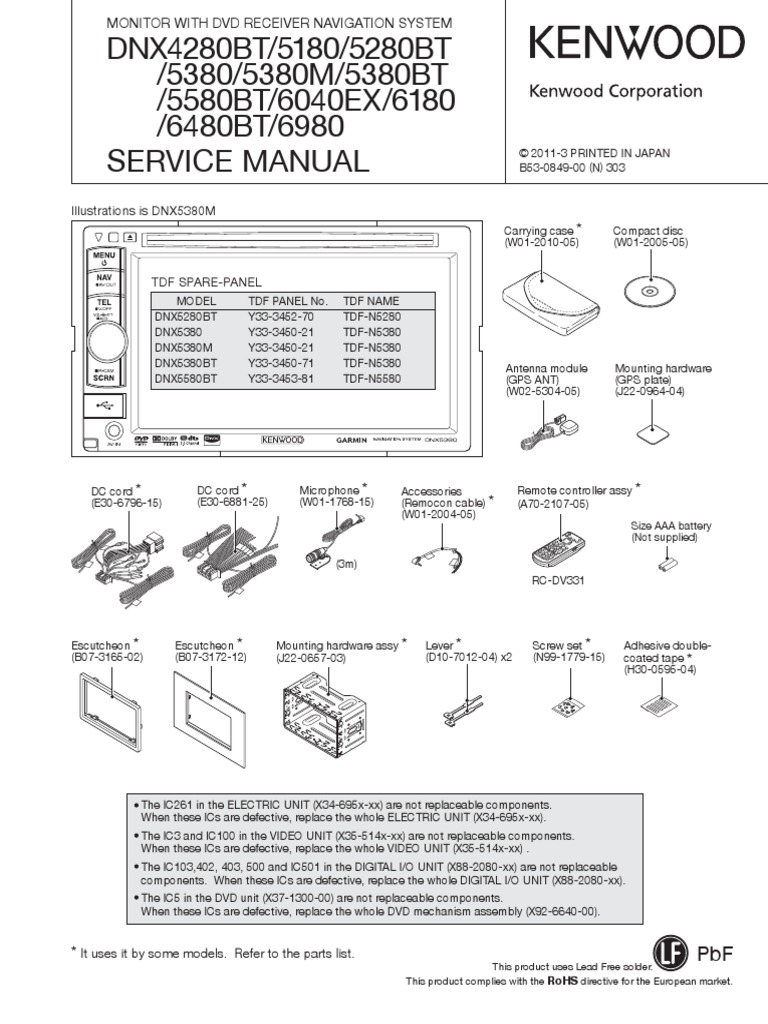 Kenwood Dnx6180 Wiring Diagram Free Download Diagrams Dpx308u 5380bt 5580 6040 6180 6480 6980 Manual Dnx4280bt 5280bt System On A Chip Power Supply At