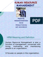 humanresourcemanagement by mkk