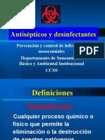 Antisépticos y desinfectantes 2