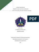 Laporan Praktikum Toksikologi Lingkungan