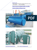 Dedusting System of Waste Tyre Plastic Rubber Recycling Pyrolysis Oil Plant of Doing Group