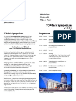 TOPinfo Symposium 2003