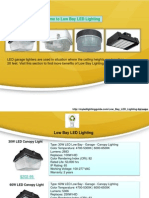 Welcome to Low Bay LED Lighting