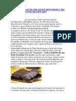 BÍBLIA COM MAIS DE 1500 ANOS É DESCOBERTA