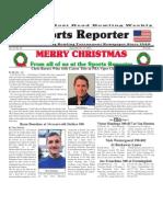 December 25 - 31, 2013 Sports Reporter