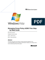 73268276 Managing Group Policy ADMX Files Step by Step Guide