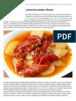 Mercadocalabajio.com-Guiso de Patatas Con Pimientos Asados Receta