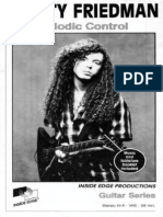 Marty Friedman - Melodic Control