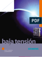 Catalogo Baja Tension Siemens