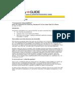 Transparent Vulnerabilities Continuity E_Guide 26 Aug 2009