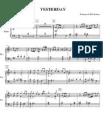 Yesterday Ensemble - Piano