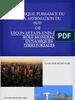 EU ,Brésil rôle mondial, dynamiques territoriales