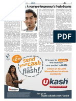 Bhanu Choudhrie - Asian Voice October 2013