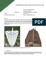Edificio Torre Lugano en Benidorm
