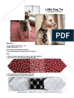 Little Dog Tie PDF